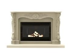 Precast Concrete Fireplace
